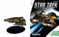 Star Trek The Official Starships Collection #51 Hirogen Warship